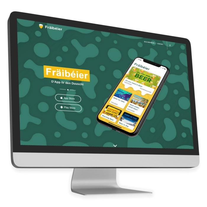 Fräibéier Website